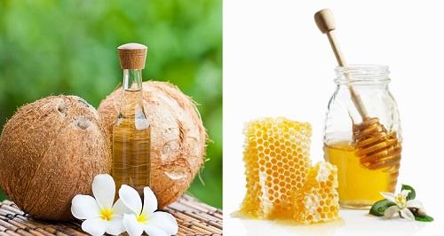 Mặt nạ dầu dừa và mật ong giúp làm mờ vết nám, cho bạn làn da mịn màng và tươi sáng tự nhiên.