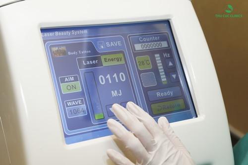 Bạn có thể làm nhạt màu môi bằng công nghệ Laser Yag ở Thu Cúc Clinics