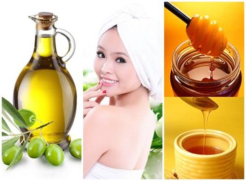Mặt nạ dầu ô liu và mật ong là cách trị tàn nhang từ thiên nhiên tại nhà được rất nhiều chị em yêu thích.