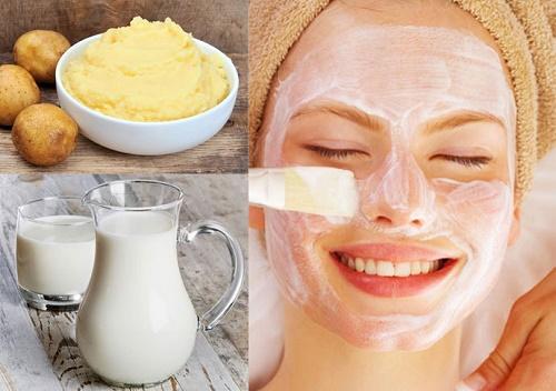 Sữa chua có nhiều chất đạm, vitamin giúp nuôi dưỡng và cung cấp độ ẩm làm da bóng mượt.