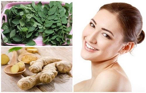 Trong rau ngót có chứa hàm lượng vitamin C, A cao giúp da sản sinh collagen để duy trì sự săn chắc và mịn màng.