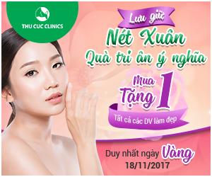 Thu Cúc Clinics ưu đãi tưng bừng mừng ngày Nhà giáo Việt Nam
