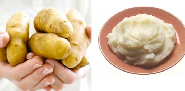Cách làm trắng da mặt bằng khoai tây được chị em ưa chuộng sử dụng