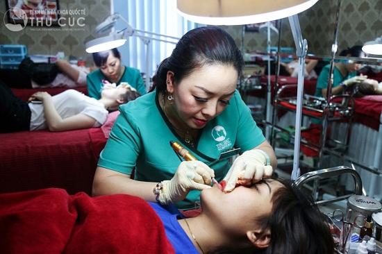 Thu Cúc Clinics - Địa chỉ phun xăm môi được đông đảo chị em tin tưởng lựa chọn