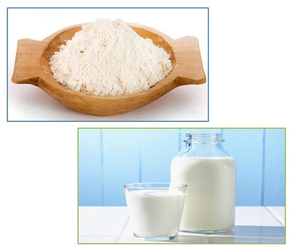 Trộn đều với bột mỳ và sữa chua để loại bỏ bã nhờn, bụi bẩn trên da