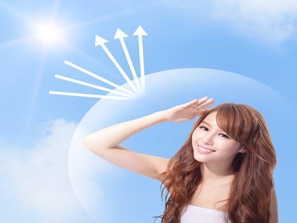 Chủ động tránh ánh nắng mặt trời sau khi tắm trắng