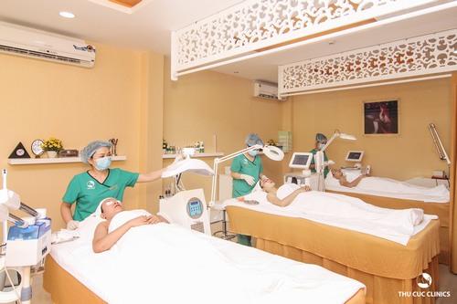 Khách hàng sẽ được trải nghiệm dịch vụ làm đẹp đẳng cấp chỉ có ở Thu Cúc Clinics