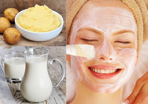 Kết hợp khoai tây và sữa chua sẽ tạo nên mặt nạ trị nám da an toàn và hiệu quả bất ngờ.