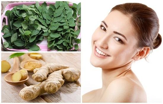 Đắp mặt nạ rau ngót làn da sẽ loại bỏ được các đốm đen, nám da và cải thiện sắc tố.