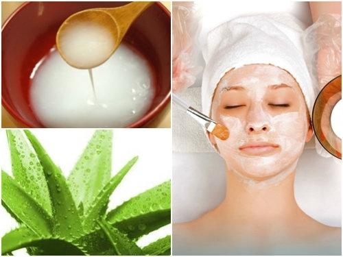 Kết hợp nha đam với nước vo gạo sẽ tạo nên mặt nạ trị nám da hiệu quả, an toàn cho mọi loại da.
