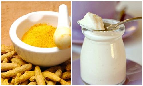 Sữa chua có chứa nhiều thành phần dưỡng chất vừa giúp làm mờ các vết nám.