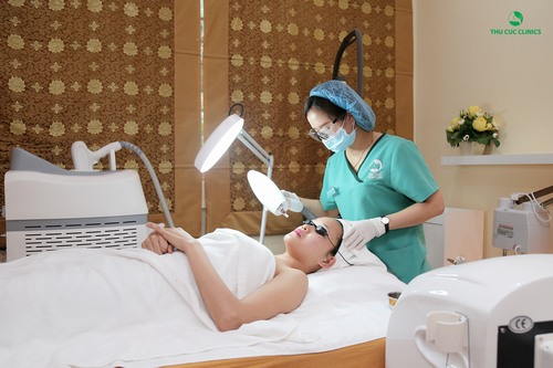 Biện pháp tối ưu nhất để trị tàn nhang chính là ứng dụng công nghệ Laser Yag.