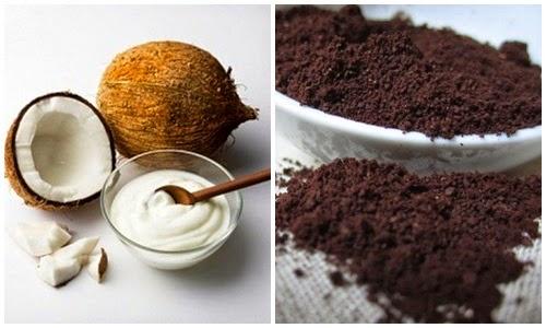 Kiên trì cách tắm trắng da tại nhà tuyệt vời bằng dầu dừa và cà phê