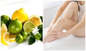 Cách tẩy lông chân tự nhiên hiệu quả với chanh