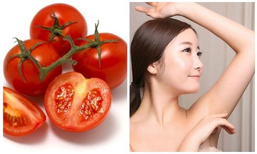 Các chị em nên kiên trì sử dụng cà chua sẽ mang lại hiệu quả nhất định trong việc giảm lông nách, tuy nhiên chỉ sau một thời gian lông nách sẽ mọc dài trở lại