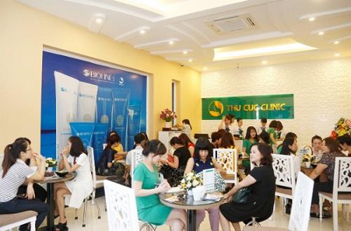 Thu Cúc Clinics - Thương hiệu phun xăm uy tín thu hút sự quan tâm, tin tưởng thực hiện của hàng triệu khách hàng