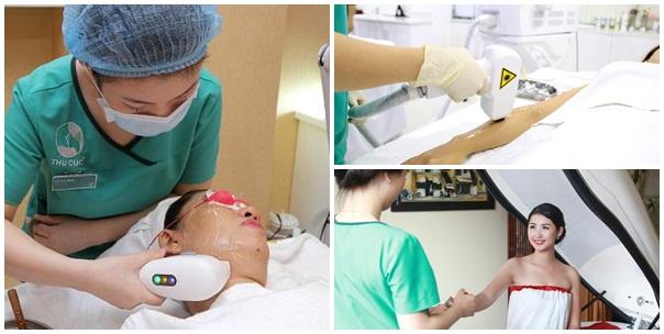 Đặc biệt, đăng ký các dịch vụ trẻ hóa da HiFu, triệt lông Diode laser và tắm trắng phi thuyền tại Thu Cúc Clinics trong tháng 5, khách hàng sẽ được giảm ngay 50%