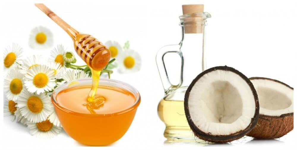 Trộn đều mật ong với dầu dừa thành hỗn hợp đặc mịn sau đó rửa sạch vùng da cần điều trị vết rạn, thoa lên trên da để yên sau khoảng 30 phút rồi rửa sạch lại