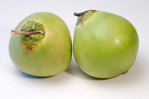 Cuối cùng, dừa là thức quả trị rạn da tương đối quen thuộc
