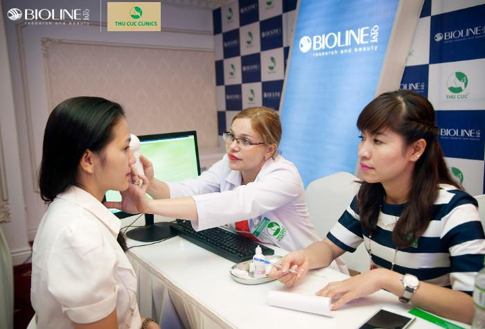 Thu Cúc Clinics là đơn vị độc quyền tại Việt Nam phân phối dòng mỹ phẩm thiên nhiên Bioline Jato