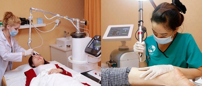 Trị viêm nang lông bằng công nghệ Laser CO2