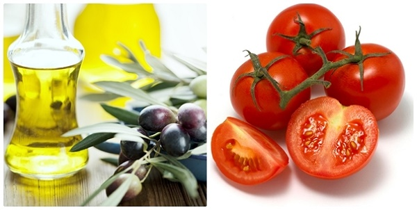 Triệt lông bằng dầu oliu và cà chua được đông đảo chị em yêu thích bởi an toàn và tiết kiệm chi phí.