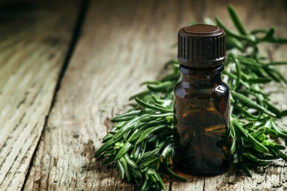 Trong dầu hương thảo có chứa nhiều thành phần dưỡng chất có tác dụng sát khuẩn.