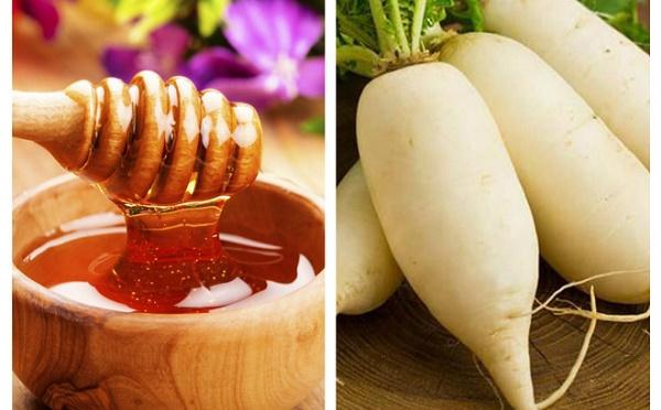 Củ cải có chứa nhiều thành phần dưỡng chất có tác dụng làm rụng lông và hạn chế lông mọc hiệu quả.