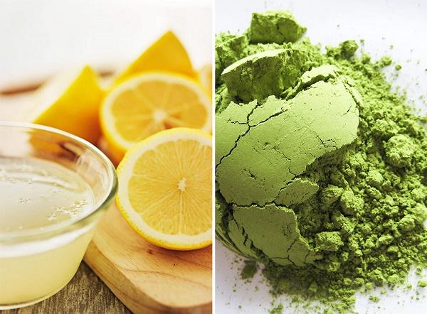 Khi kết hợp bột đậu xanh với chanh thì tạo thành một hỗn hợp tẩy lông nách hiệu quả.