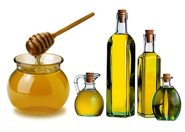 Kết hợp mật ong với dầu ô liu sẽ tạo nên hỗn hợp điều trị nám da rất tốt.