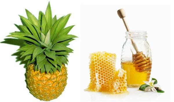 Cách trị nám bằng quả dứa, mật ong được các chị em áp dụng rất phổ biến ngay tại nhà.