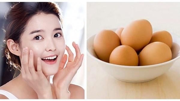 Mặt nạ từ trứng gà giúp trị muinj đầu đen và vết thâm do mụn gây ra hiệu quả.