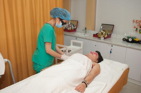 Quy trình triệt lông bằng công nghệ Laser Diode tại Thu Cúc Clinics được thực hiện rất khoa học bởi đội ngũ chuyên gia giàu kinh nghiệm.