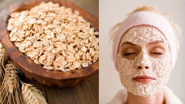 Mặt nạ bột yến mạch để tẩy tế bào chết, làm trắng da, đặc biệt là giúp làm mờ nám da hiệu quả.