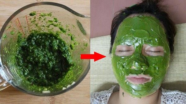 Kết hợp lá rau răm với nước cốt chanh sẽ tạo thành mặt nạ trị tàn nhang hiệu quả.