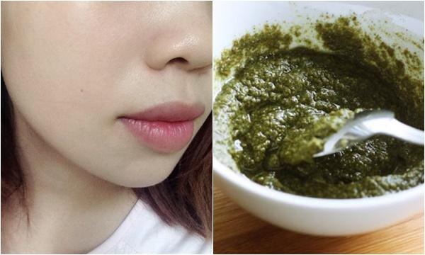 Trị tàn nhang bằng rau mùi nguyên chất được các chị em áp dụng rất phổ biến vì an toàn cho làn da.