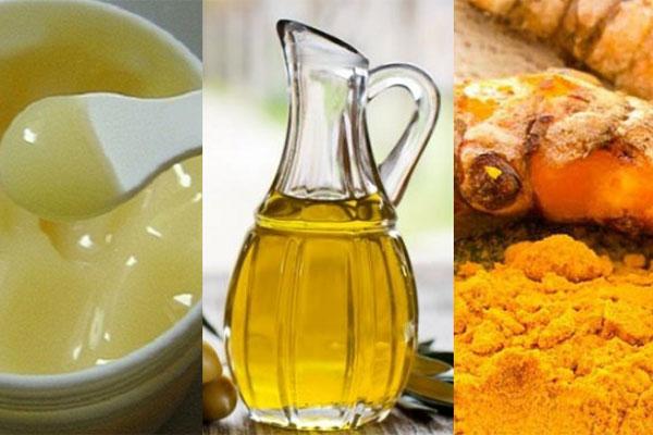 Hỗn hợp sữa ong chúa và bột nghệ cải thiện vết thâm mà còn giúp điều trị nám da hiệu quả.