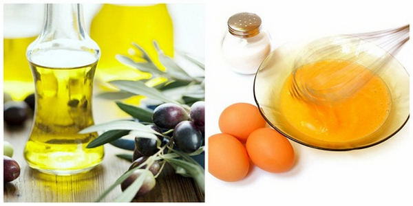 Hỗn hợp dầu oliu và trứng gà giúp điều trị nám tàn nhang rất tốt, không gây kích ứng làn da nhạy cảm.