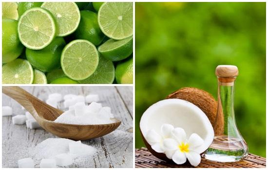 Trị tàn nhang hiệu quả bằng dầu dừa và nước cốt chanh rất an toàn cho làn da mà không gây kích ứng.