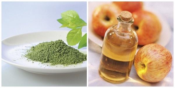 Trị tàn nhang bằng trà xanh và giấm táo được các chị em áp dụng rất phổ biến ngay tại nhà vì dễ thực hiện.