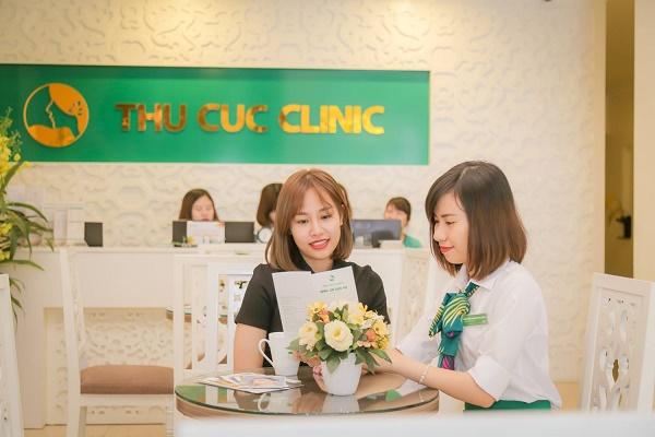 Thu Cúc Clinics đang ứng dụng phương pháp trị viêm nang lông bằng công nghệ Laser Co2, giúp loại bỏ tới khoảng 95%.