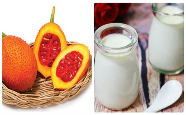 Mặt nạ sữa tươi và dầu gấc không chỉ giúp loại bỏ nám da nhanh chóng mà còn bổ sung dưỡng chất cho làn da tươi trẻ tự nhiên.