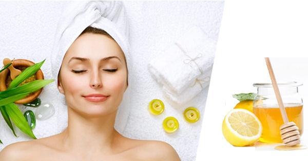 Mật nạ từ chanh và mật ong ngăn chặn quá trình lão hóa và loại bỏ vết nhăn hiệu quả.