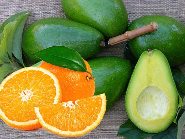 Chống lão hóa da hiệu quả bất ngờ với quả bơ và cam được áp dụng phổ biến ngay tại nhà.