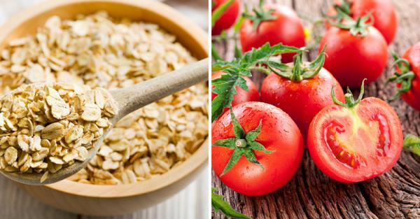 Trị tàn nhang từ cà chua và bột yến mạch được các chị em áp dụng rất phổ biến ngay tại nhà.