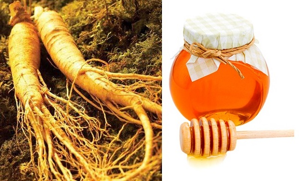 Cách dưỡng trắng da từ bột nhân sâm và mật ong được đông đảo chị em áp dụng tại nhà.