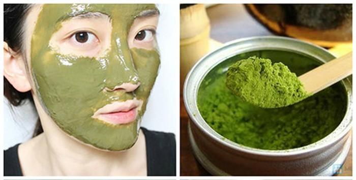 Phương pháp làm đẹp da từ bột trà xanh được đông đảo chị em yêu thích áp dụng.