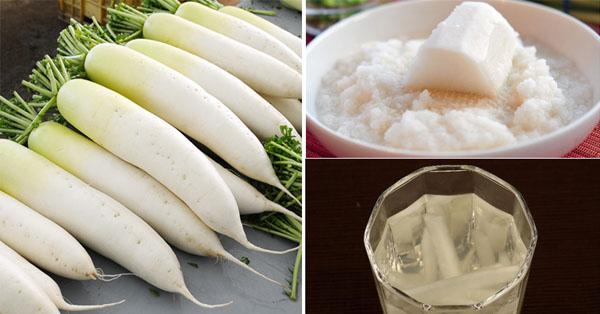 Mặt nạ củ cải giúp loại bỏ nám tàn nhang và ngăn chặn nếp nhăn hiệu quả.
