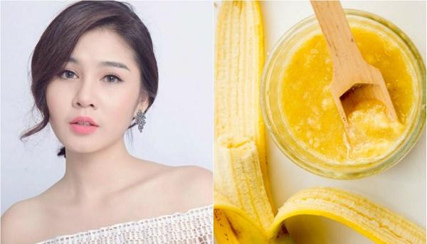 Trong quả chuối có chứa lượng vitamin A và E dồi dào, giúp chống lại nếp nhăn và lão hóa da.