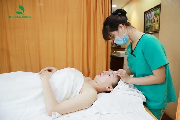 Phục hồi tam giác tuổi thanh xuânlà dịch vụ làm đẹp được rất nhiều chị em yêu thích tại Thu Cúc Clinics.